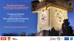 QuizAustria 2017: Paar-Bewerb @ The Office Pub Graz